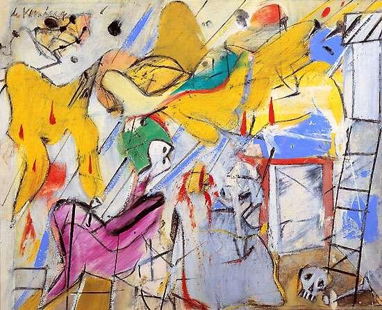 Groupe d'artistes abstraits américains