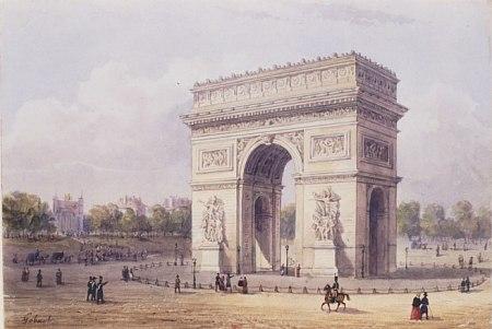 L'arc de triomphe de l'Étoile Arc-triomphe16556