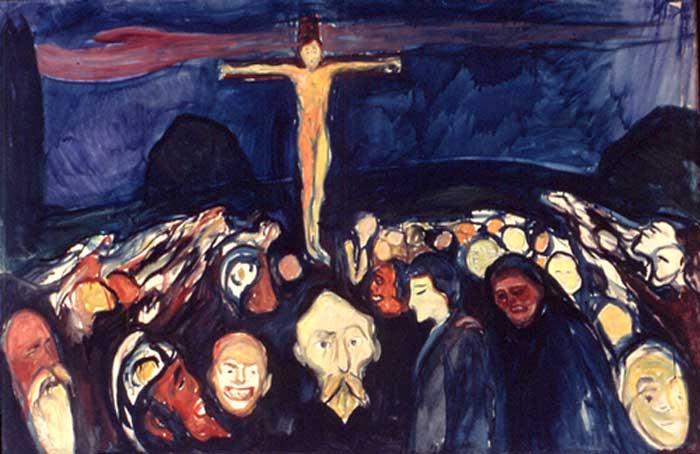 Edvard Munch's &quot;Golgotha&quot;