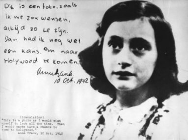 Le cahier à carreaux... Anne_Frank_the_Hollywood_photo_Oct10_19425