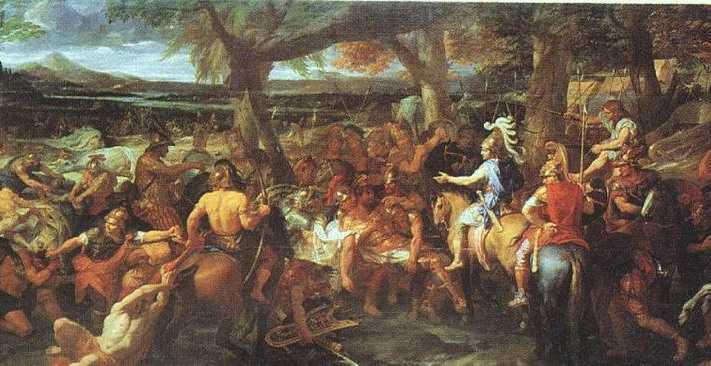При вступлении на македонский трон Александр первым делом расправился с пре