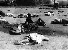 understanding the reason for the sharpeville massacre To mark the fiftieth anniversary of the sharpeville massacre  the confrontation,  well knowing that a bloody outcome was possible, so as to gain political  was  an horrific event that was not supposed to happen, the result of an.