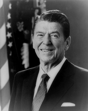 Ronald Reagan est réélu président des États-Unis - ronald_reagan1