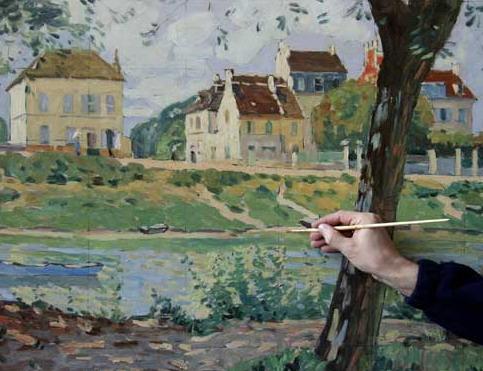 Alfred Sisley de nationalité britannique fut un peintre du mouvement ...