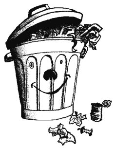 Opq - Dessin de poubelle ...